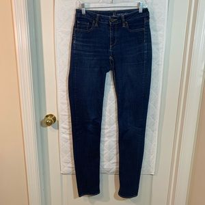 NY&Co. Jeans curvy Skinny Jeans 2 Tall dark wash